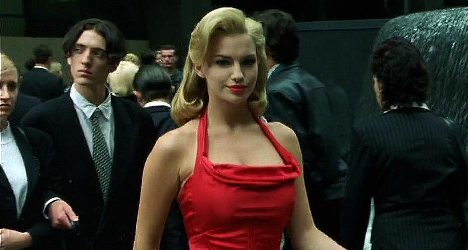 Woman-In-Red-Matrix-Warner-Bros-Video-Marketing-Kobra-Social